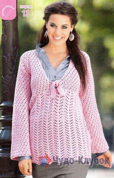 pulover zhenskij kryuchkom 49