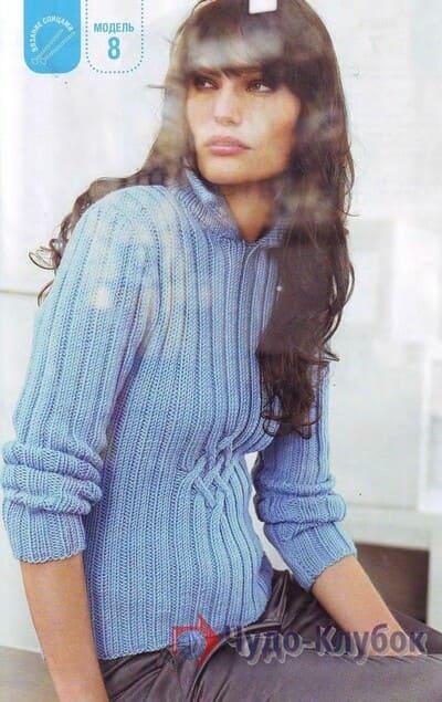 zhenskij pulover spiczami 1
