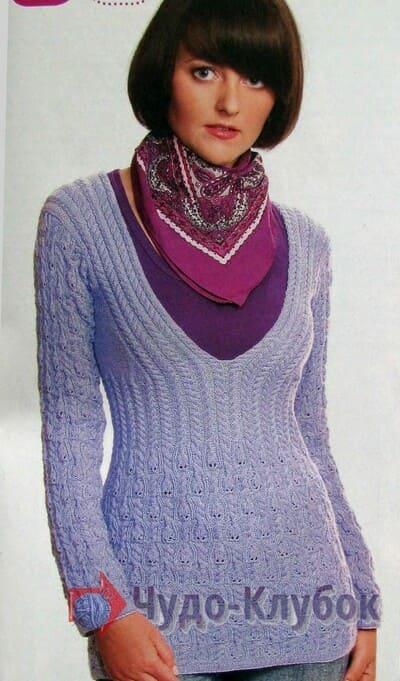 zhenskij pulover spiczami 21
