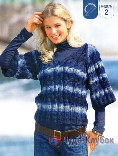 zhenskij pulover spiczami 23