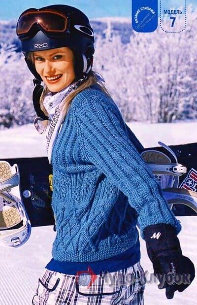 zhenskij pulover spiczami 25