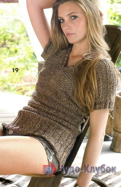 vyazanyj spiczami zhenskij pulover 27